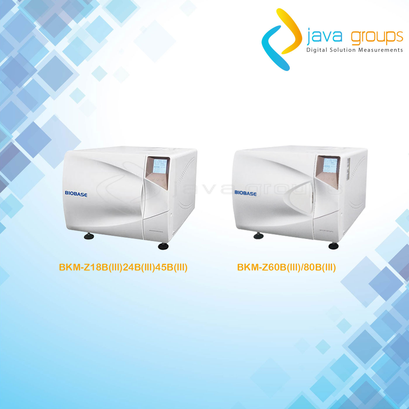 Alat Table Top Autoclave Biobase Kelas B Series