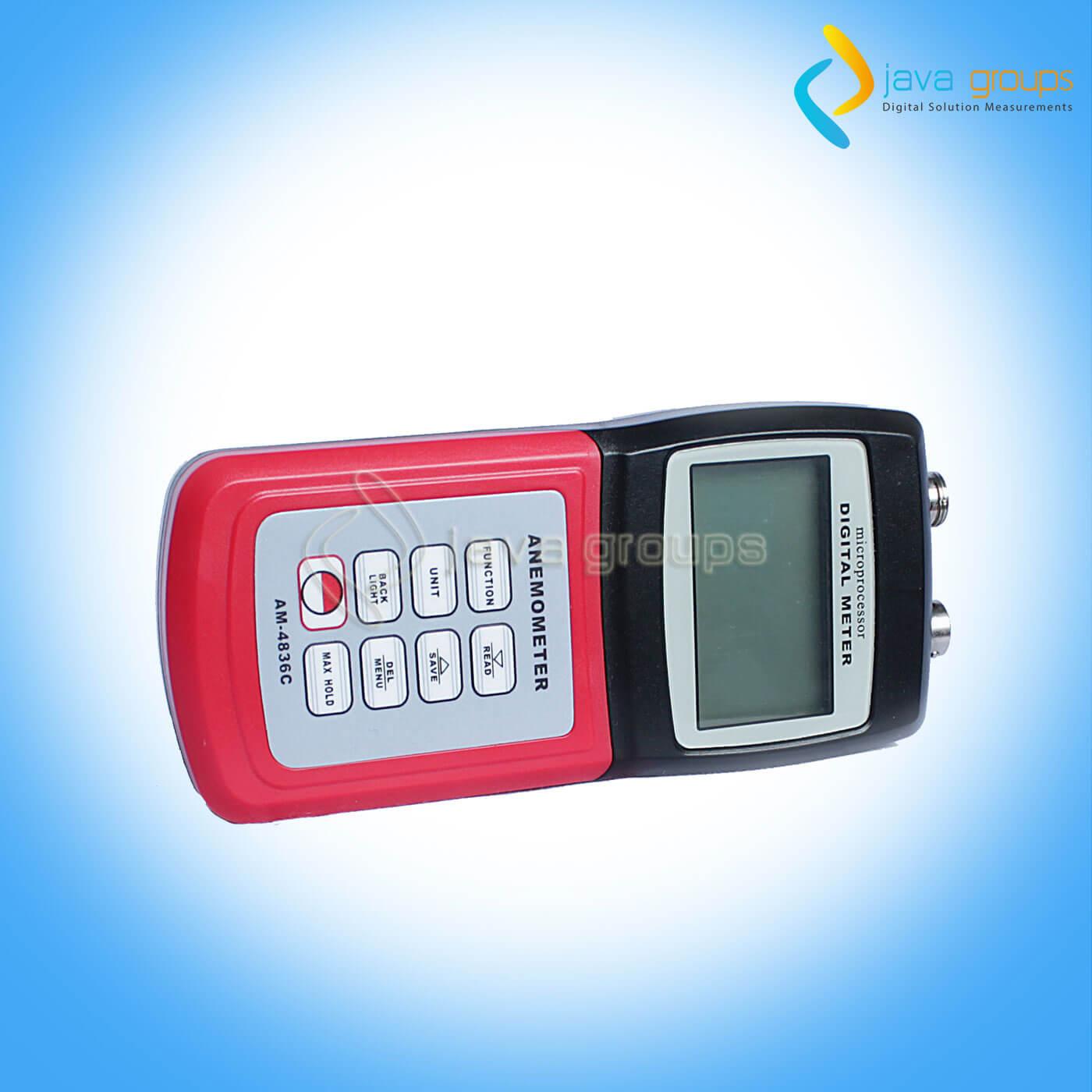 Alat Pengukur Kecepatan Angin dan Cuaca AMTAST AM-4836C