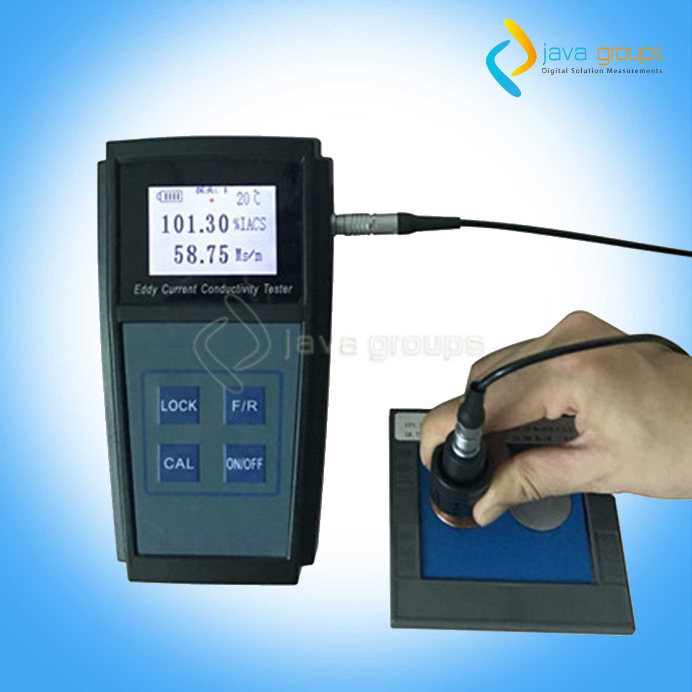AMC-001 Eddy Current Electrical Conductivity Tester