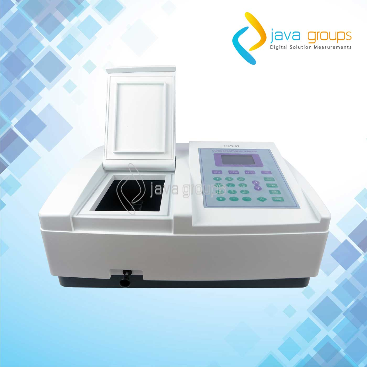 Alat UV-Visible Spectrophotometer AMV11 PC