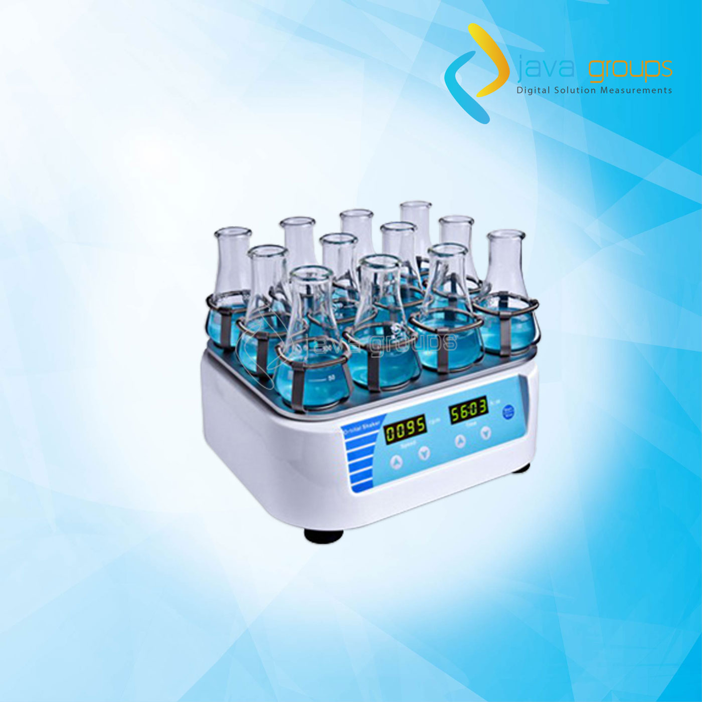 Alat Digital Shaker Orbital Laboratorium AMT-M10