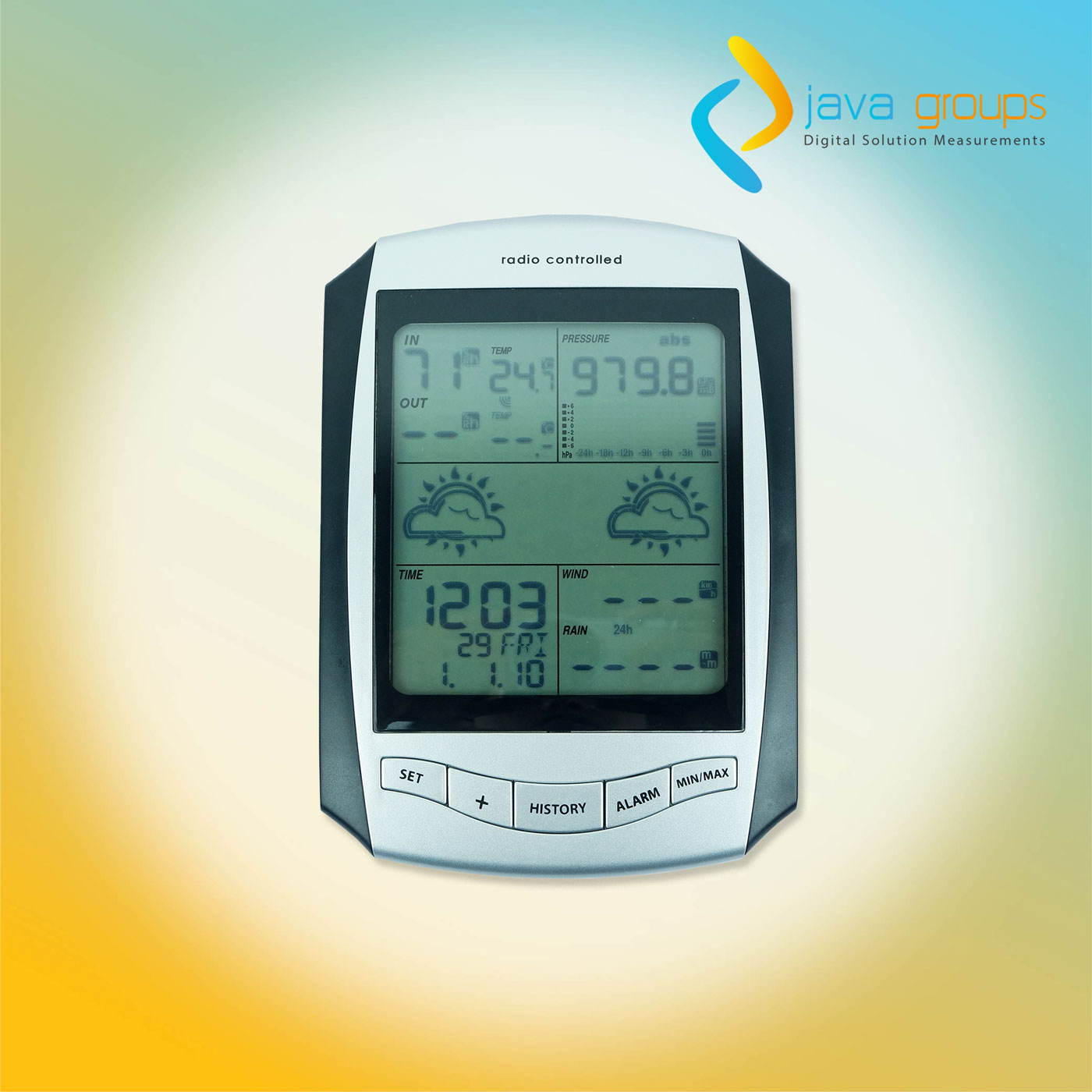 Alat Pengamat cuaca Weather Station AW001