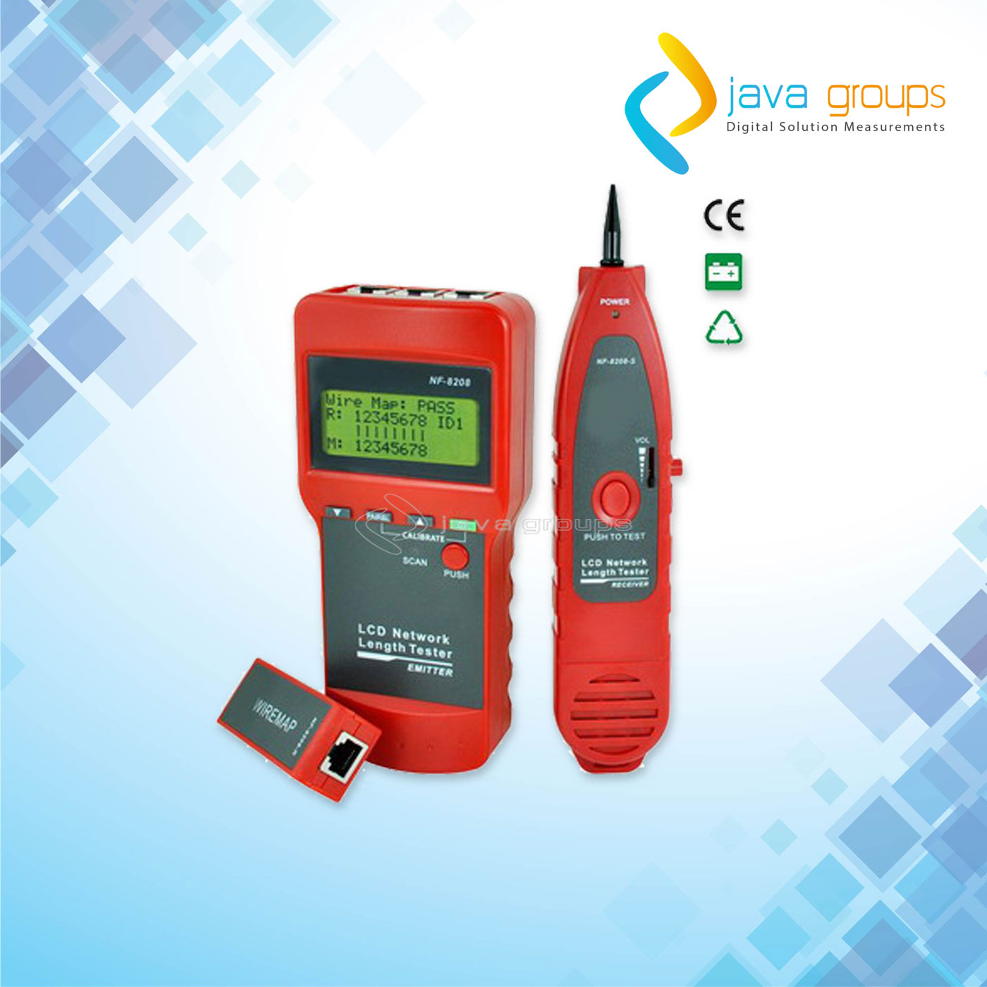 Alat Penguji Kabel Jaringan Multifungsi N8208