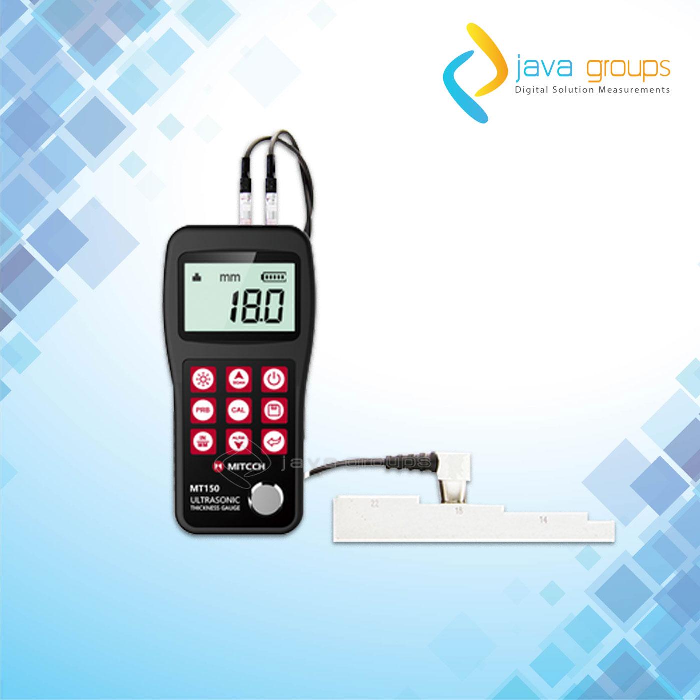 Alat Pengukur Digital Ketebalan Ultrasonik Mitech MT150
