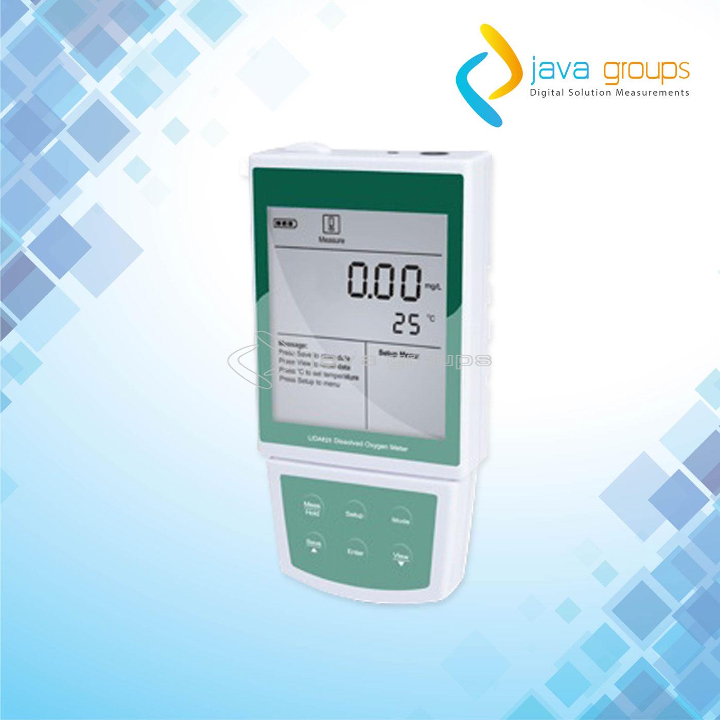 Alat Pengukur Digital Oksigen Terlarut Portabel DO-821