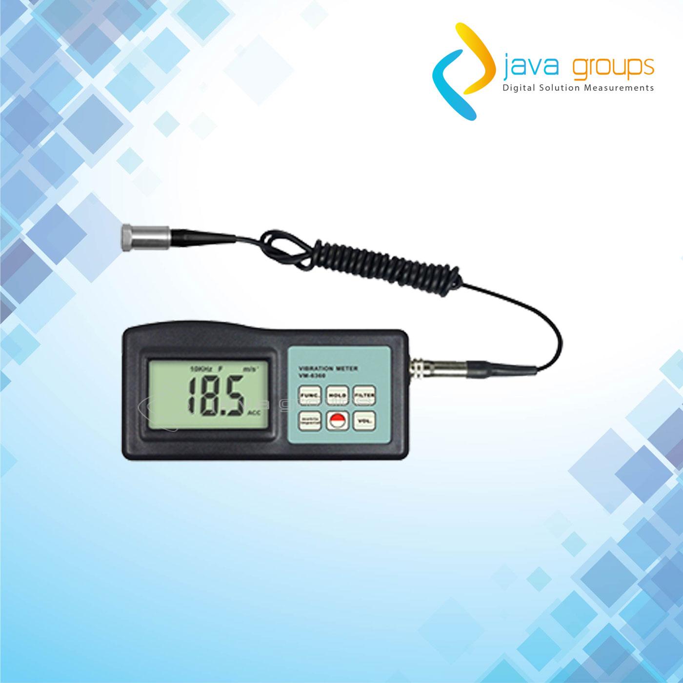 Alat Pengukur Geteran Mesin Vibration Meter VM-6360