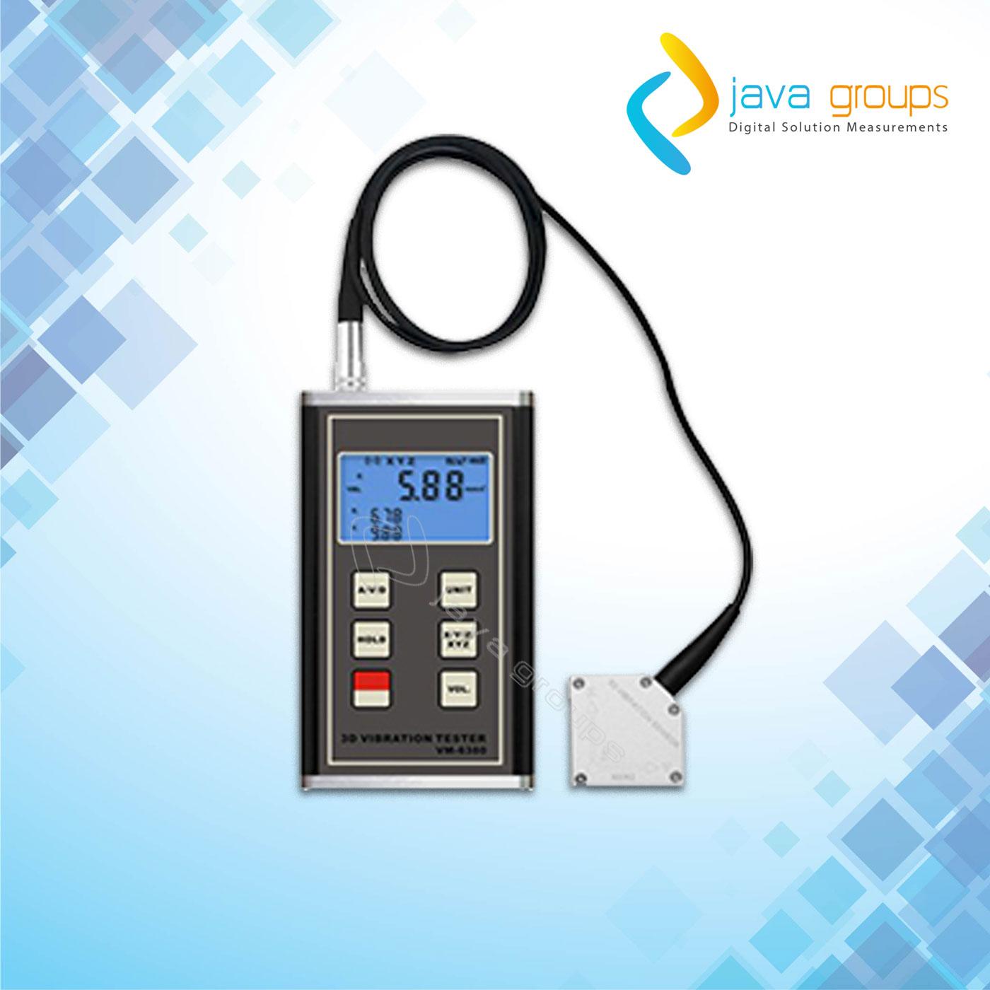 Alat Pengukur Geteran Mesin Vibration Meter VM-6380