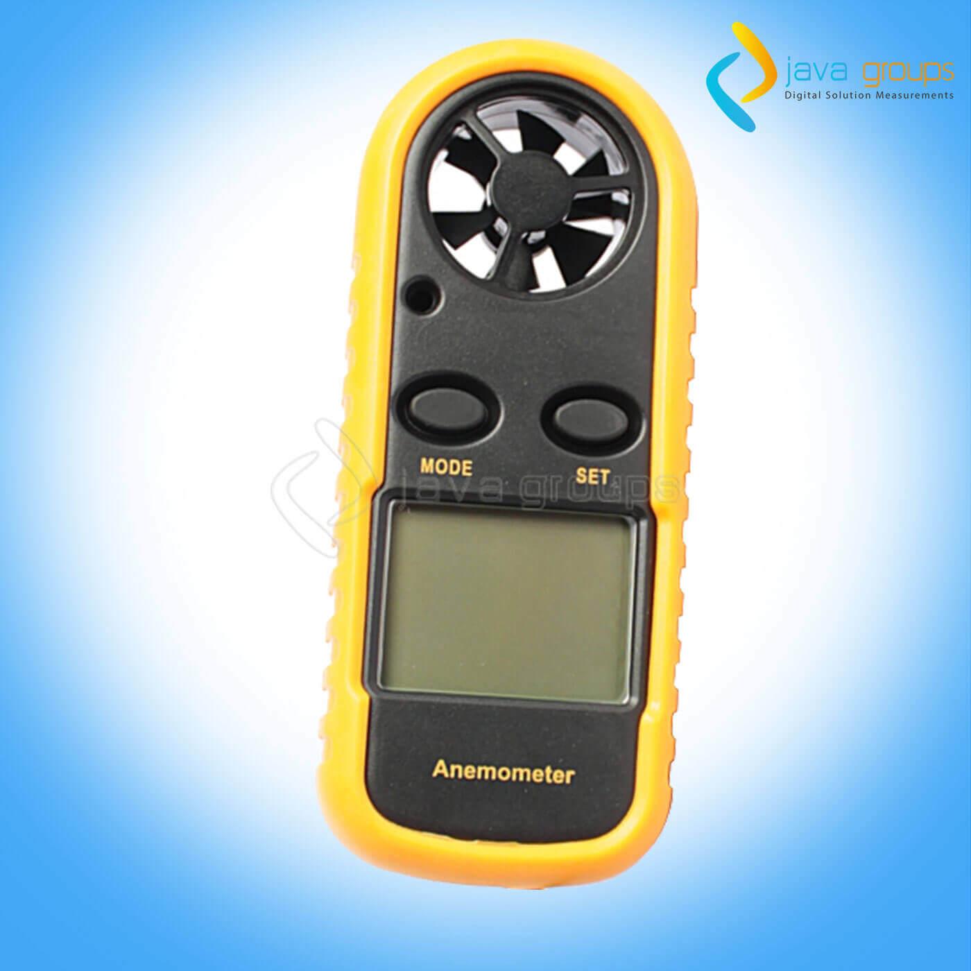Alat Pengukur Kecepatan Angin, Suhu dan Udara AMF-006