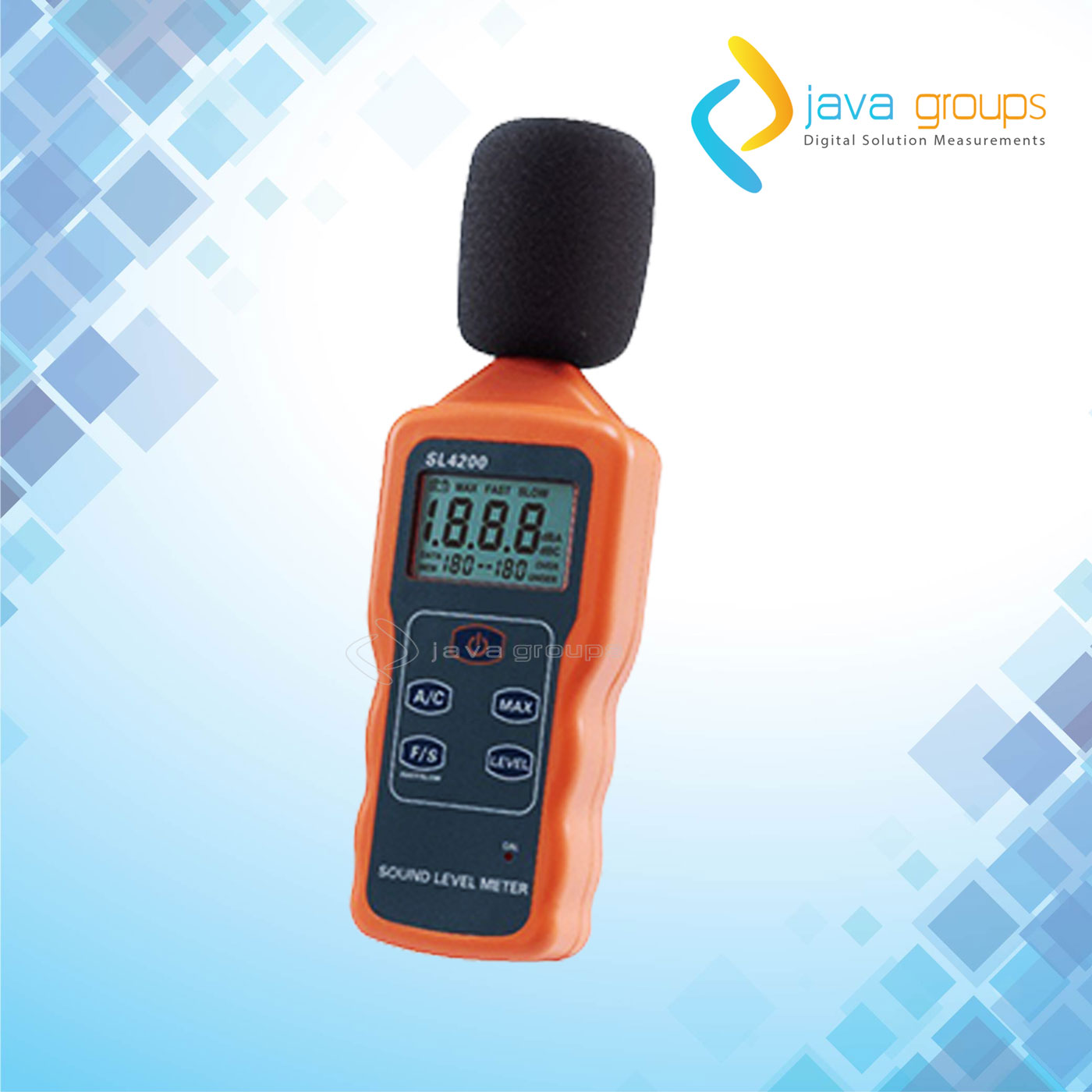 Alat Pengukur Kekuatan Suara Portabel Seri SL4200