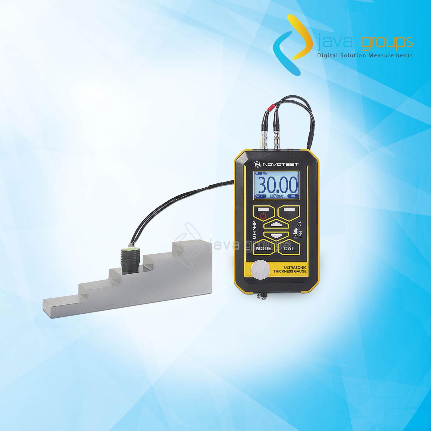 Alat Pengukur Ketebalan Ultrasonik NOVOTEST UT-1M-IP