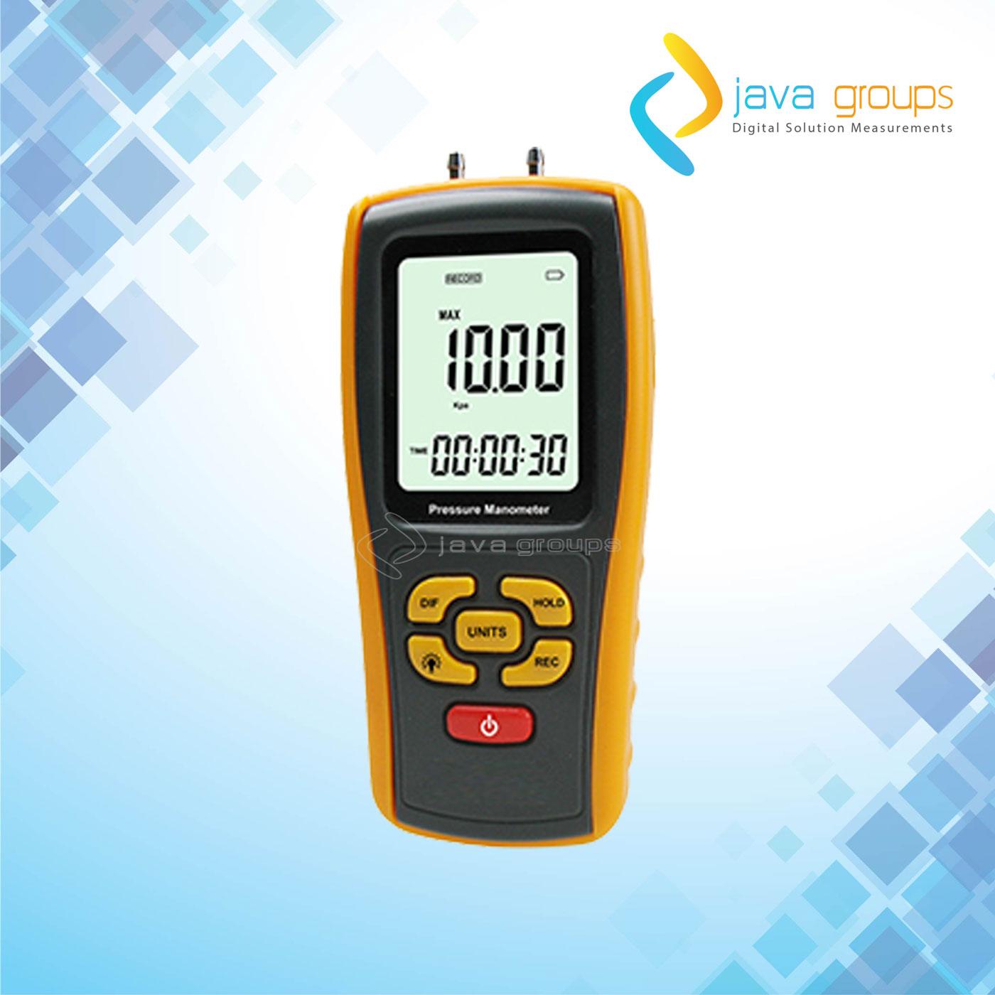 Alat Pengukur Tekanan Udara Digital Manometer AMF031