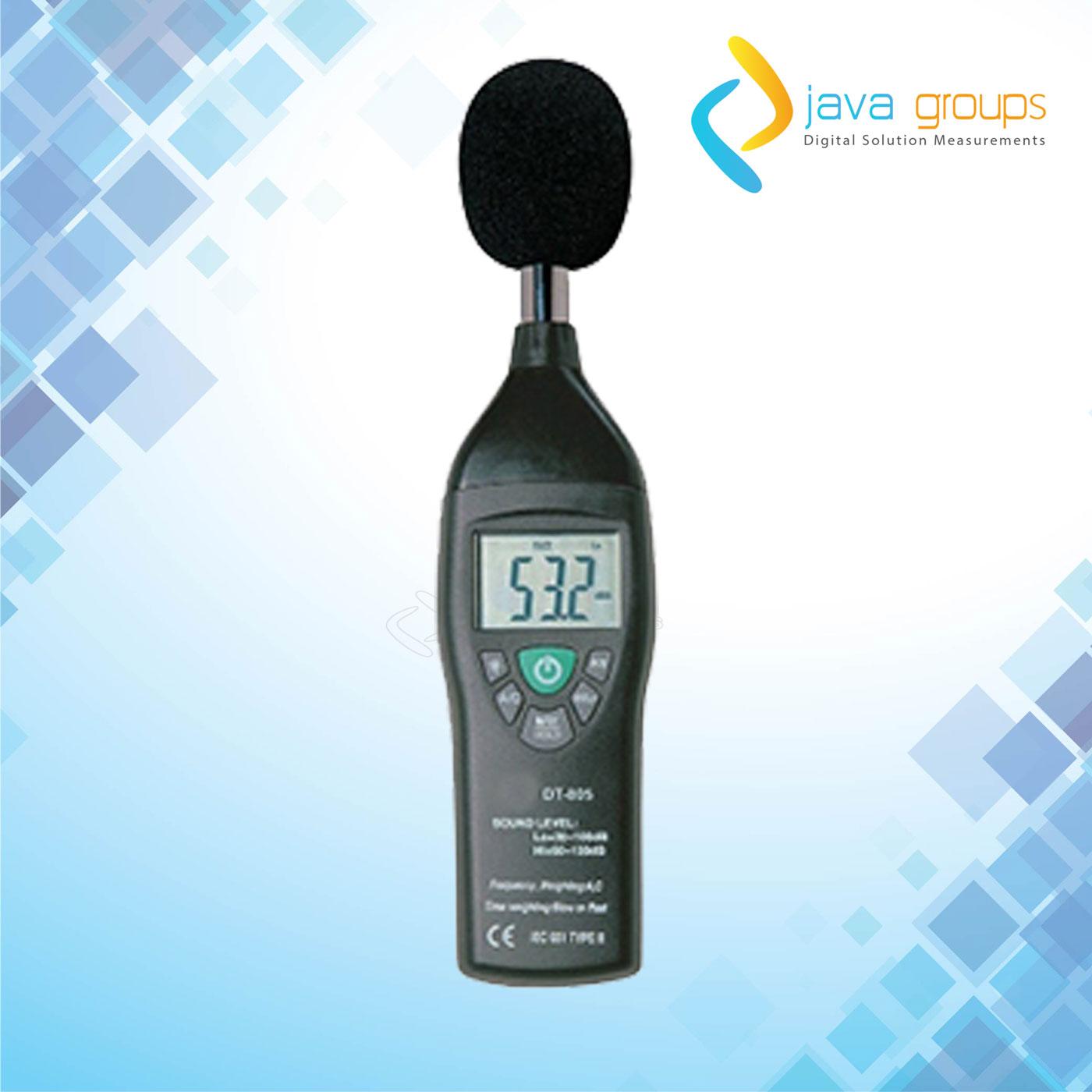 Alat Pengukur Tingkat Suara Digital Professional Seri DT-805