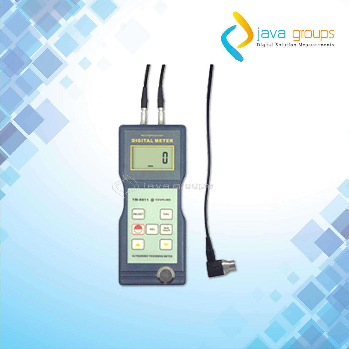 Alat Thickness Meter Ultrasonic Pengukur Ketebalan TM-8811