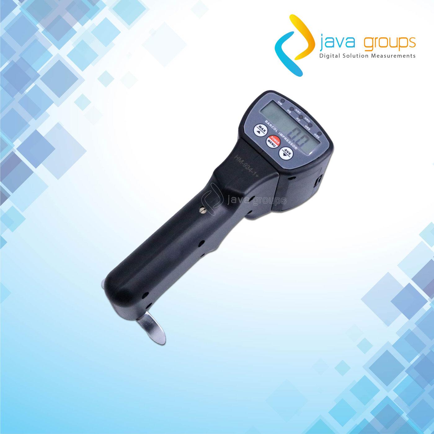 Alat Uji Kekerasan Aluminium Digital Barcol Impressor Seri HM-934-1+