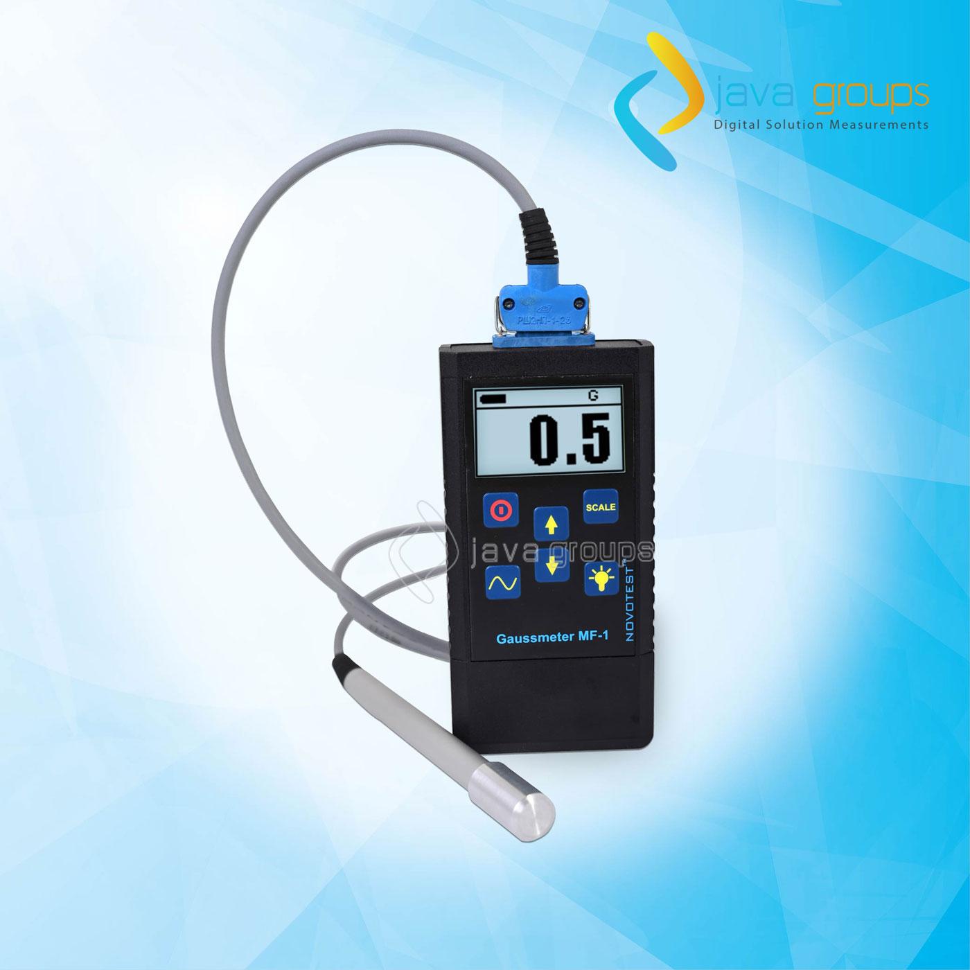 Alat Uji Medan Magnet Gaussmeter NOVOTEST Seri MF-1
