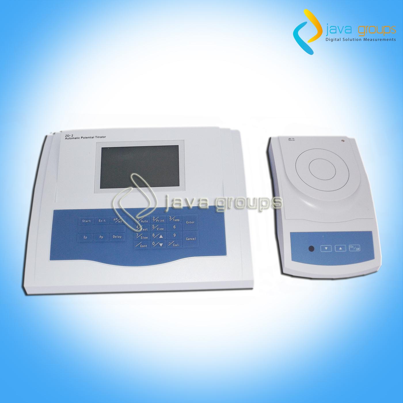Alat Ukur Oksigen Terlarut Titration Meter ZD-2