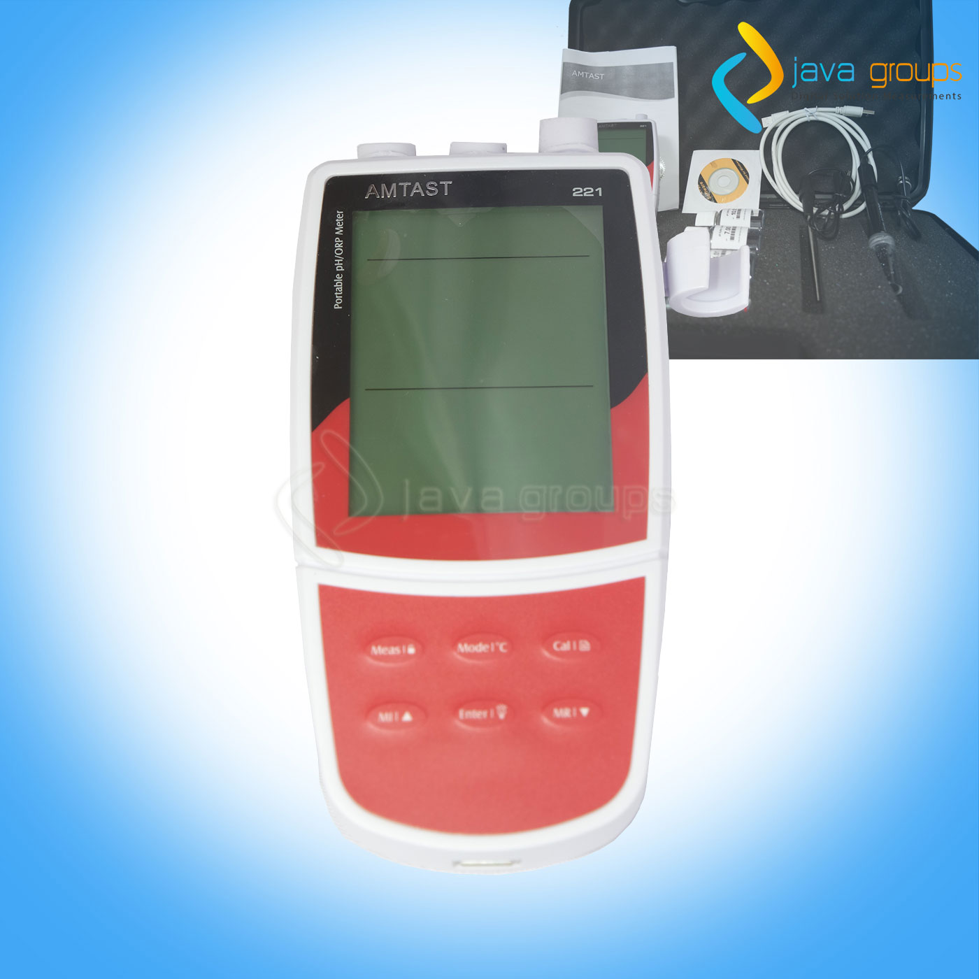 Alat PH Meter Air Digital PH-221