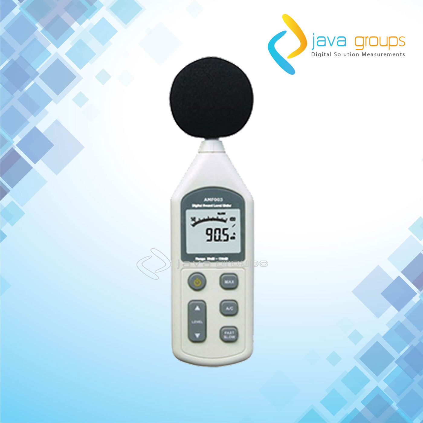 Alat Ukur Sound Level Meter Digital Seri AMF003