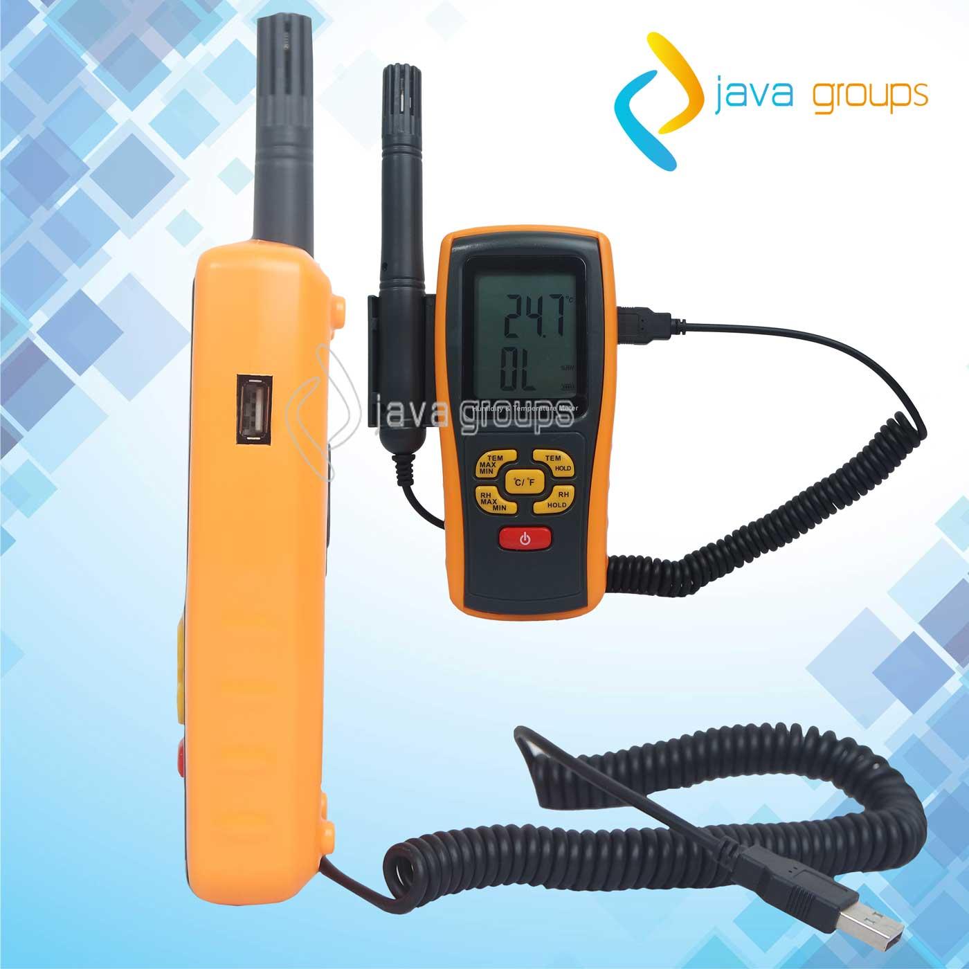 Alat Ukur Suhu Kelembaban Thermo Hygro AMF051