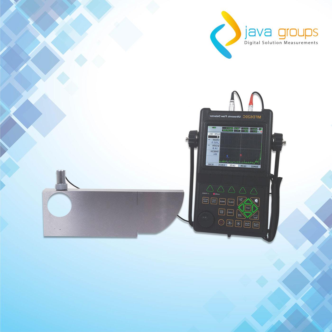 Alat Ultrasonic Ukur Cacat Keretakan logam MFD620C
