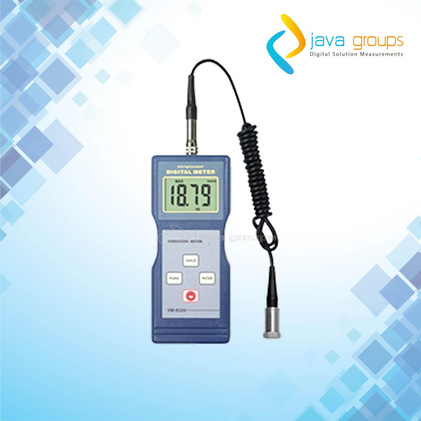 Alat Vibration Meter Pengukur Geteran Mesin VM-6310