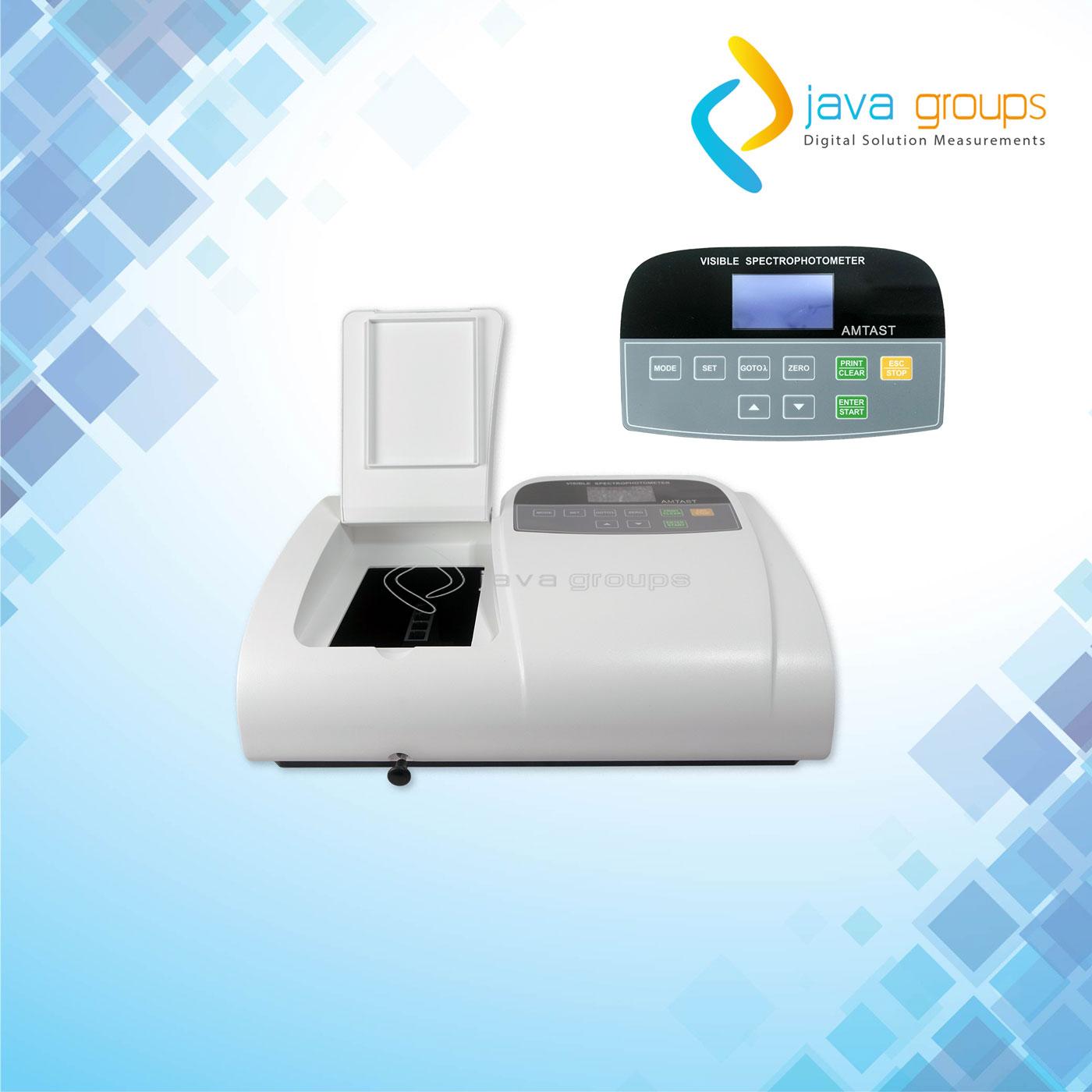 Alat Visible Spektrofotometer Seri AMV01