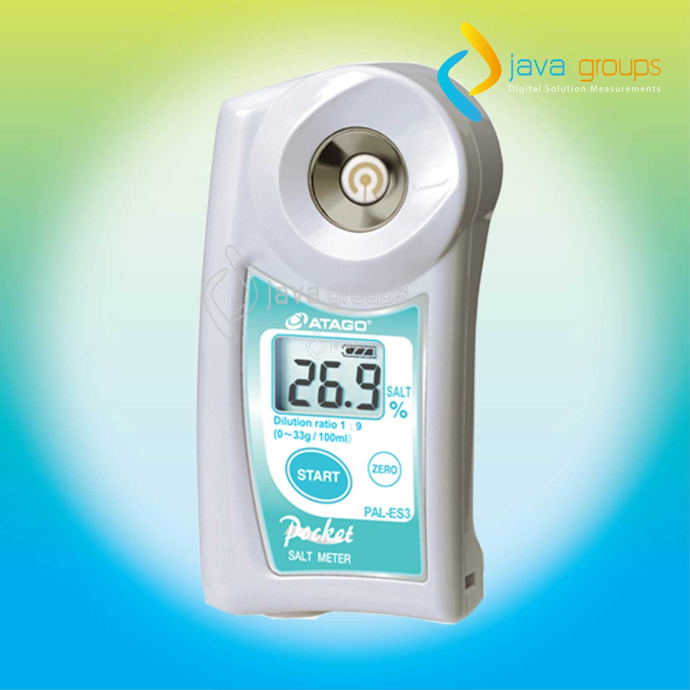 Alat Digital Handheld Salt Meter ATAGO PAL-ES3