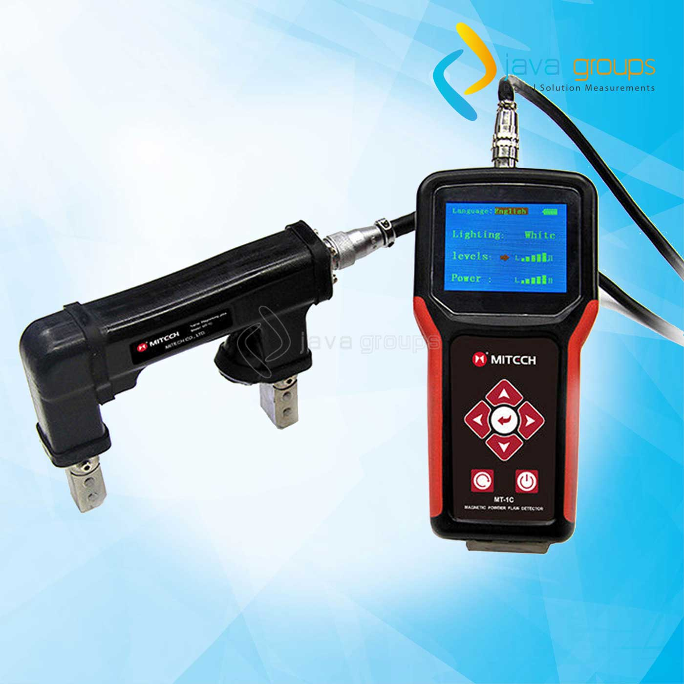 MItech MT-1C Portable Digital Magnetic Particle Flaw Detector