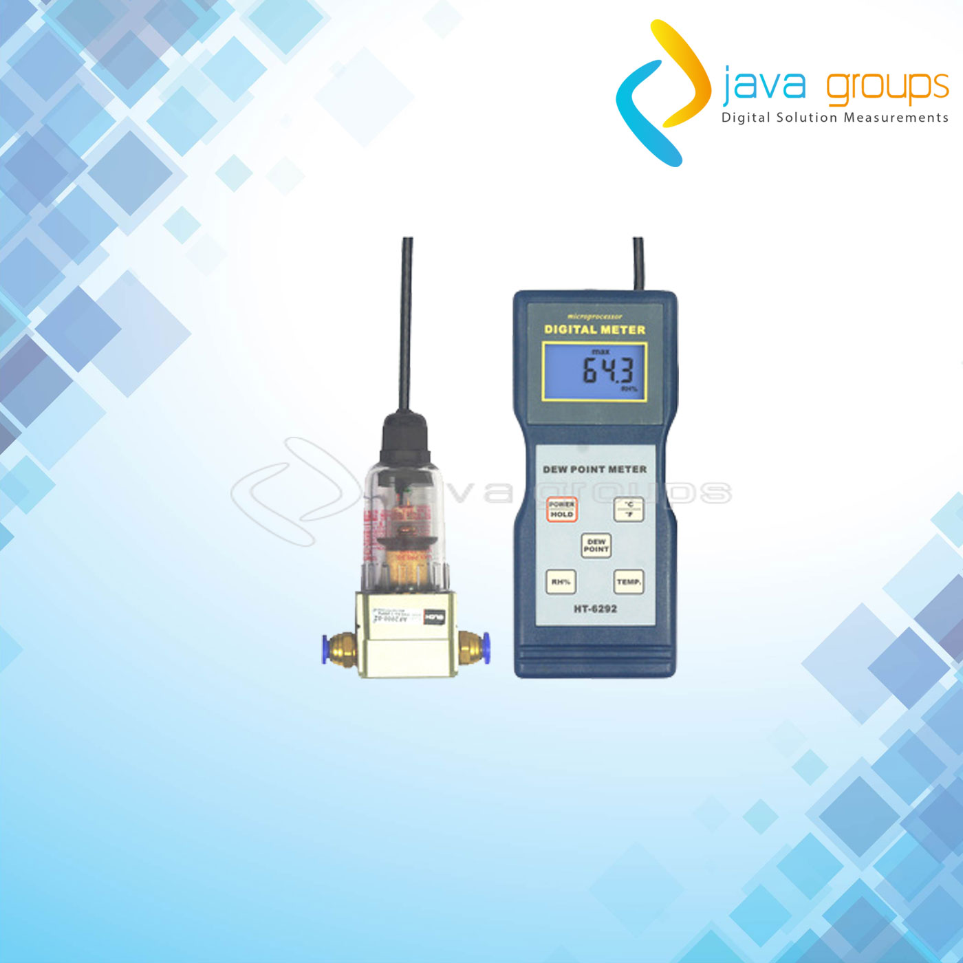 Alat Pengukur Kelembaban Dew Point Digital HT-6292